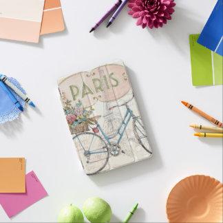 Paris Bike With Flowers iPad Mini Cover