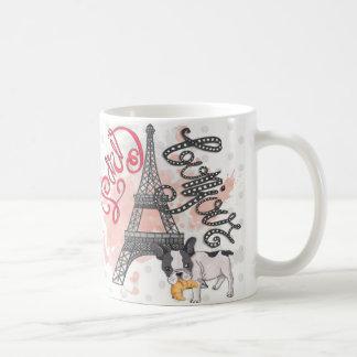 Paris Bonjour Coffee Mug