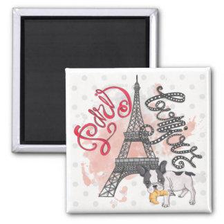 Paris Bonjour Magnet