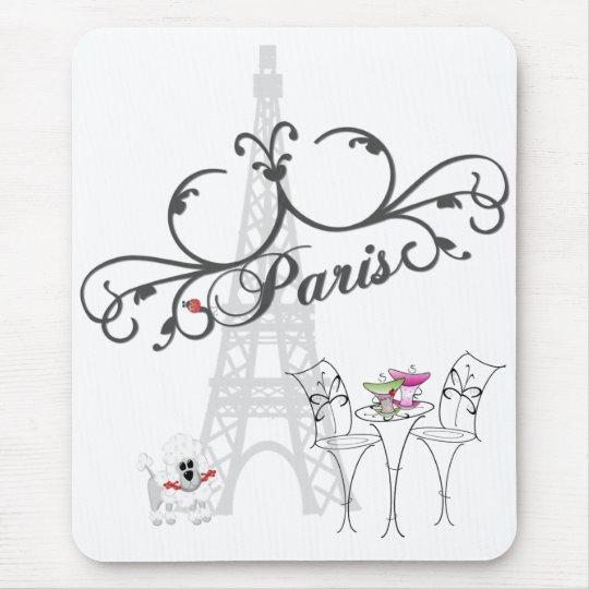 Paris Cafe Mousepad