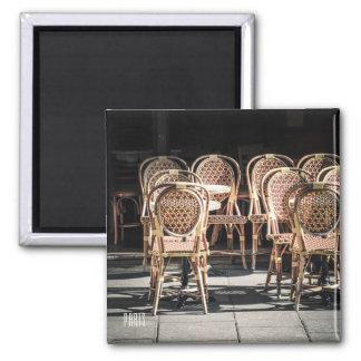 Paris Cafe photo Magnet