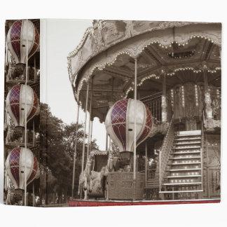 Paris Carousel Binder