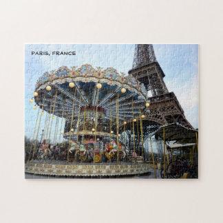 Paris Carousel (& Eiffel Tower) Puzzles