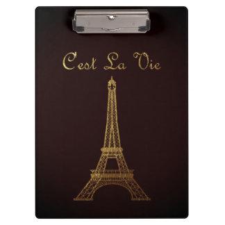 Paris: C'est La Vie Clipboard