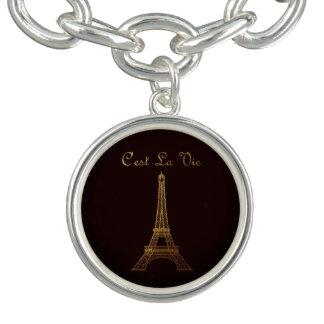Paris: C'est La Vie  *MULTIPLE STYLE OPTIONS* Charm Bracelets