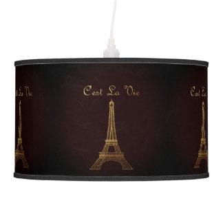 Paris: C'est La Vie Pendant Lamp