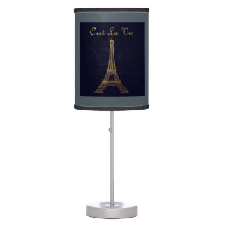 Paris: C'est La Vie Table Lamp