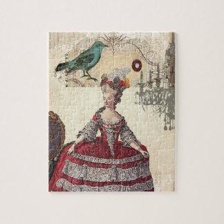 Paris Chandelier french queen  Marie Antoinette Jigsaw Puzzle