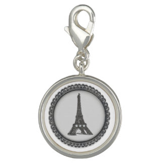 Paris Charm Bracelet Eiffel Tower Charm