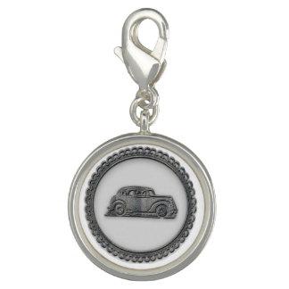 Paris Charm Bracelet Vintage Car Charm
