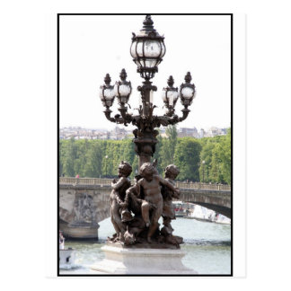 Paris Cherubs Postcard