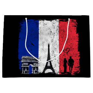 Paris city of love gift bag
