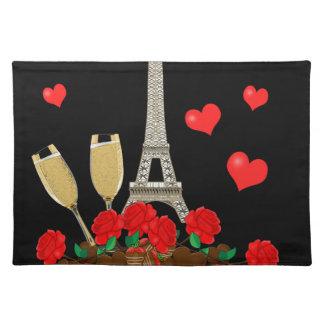 Paris - city of love placemat