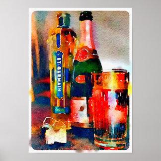 PARIS, Cocktail Hour Poster