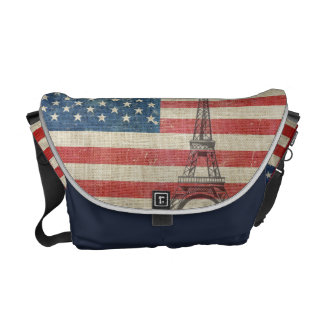 Paris coil the USA Courier Bags