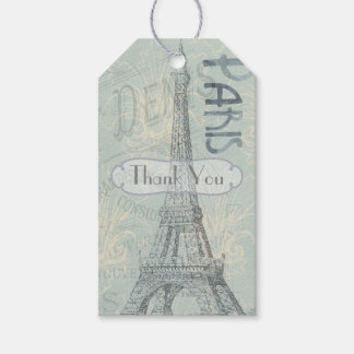 Paris Corporate Party add logo Pack Of Gift Tags