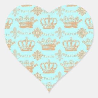 Paris Crown Stickers