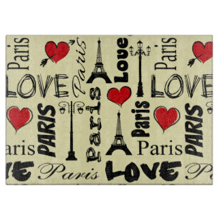 Paris Cutting Board