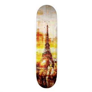 Paris Dawn Grunge Element Custom Pro Board Skate Deck