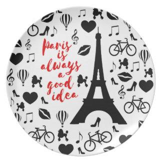 Paris Dinner Plates