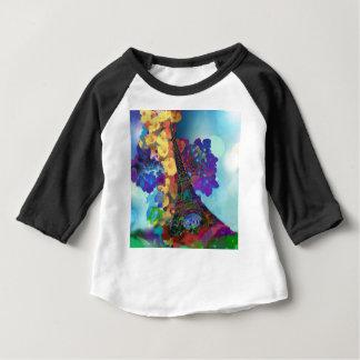 Paris dreams of flowers baby T-Shirt