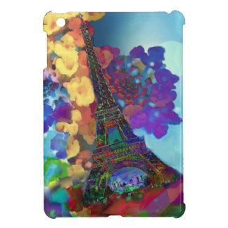 Paris dreams of flowers iPad mini cases