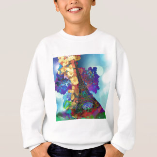 Paris dreams of flowers sweatshirt