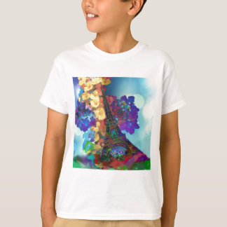 Paris dreams of flowers T-Shirt