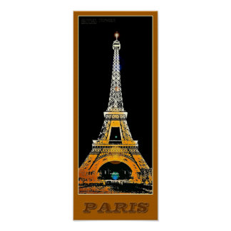 Paris Eiffel Tower - 02 - Travel Poster