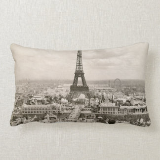 Paris: Eiffel Tower, 1900 Lumbar Pillow