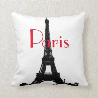 Paris Eiffel Tower American MoJo Pillow