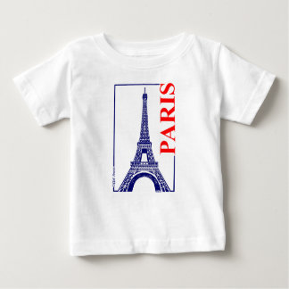 Paris-Eiffel Tower Baby T-Shirt