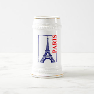 Paris-Eiffel Tower Beer Stein
