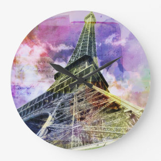 Paris, Eiffel Tower Clock