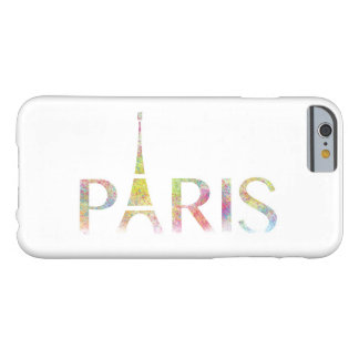 Paris Eiffel Tower Colour Splash iPhone 6/6s Case