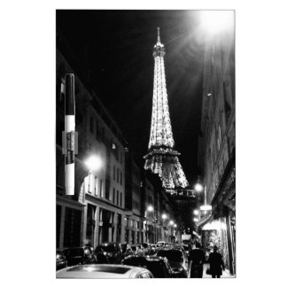 Paris, Eiffel tower Dry Erase Board