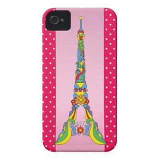 Paris Eiffel tower elegant pop stylish silhouette iPhone 4 Covers