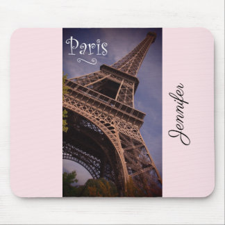 Paris Eiffel Tower Famous Landmark Photo Custom Mouse Pad