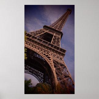 Paris Eiffel Tower Famous Landmark Photo Poster