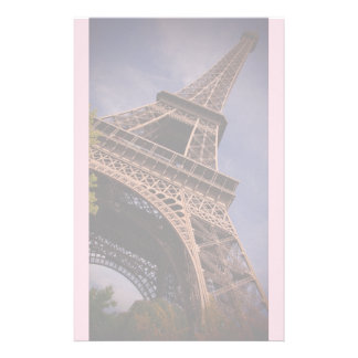 Paris Eiffel Tower Famous Landmark Photo Stationery