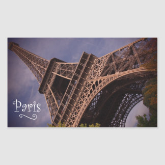 Paris Eiffel Tower Famous Landmark Photo Sticker