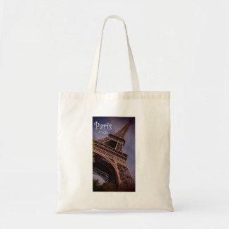 Paris Eiffel Tower Famous Landmark Photo Tote Bag