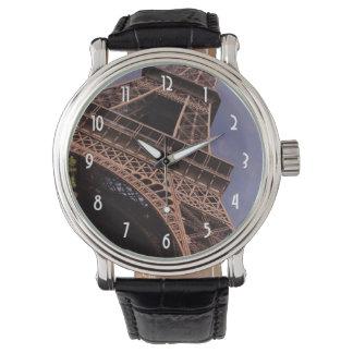 Paris Eiffel Tower Famous Landmark Photo Watch