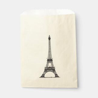 Paris Eiffel Tower Favour Bag
