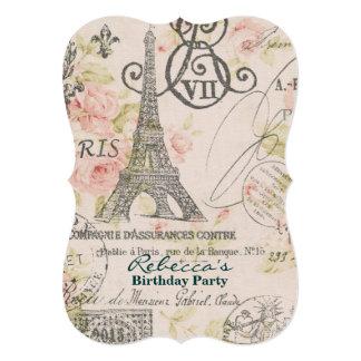Tea party invitations announcements zazzle canada - Salon des seniors paris invitation ...