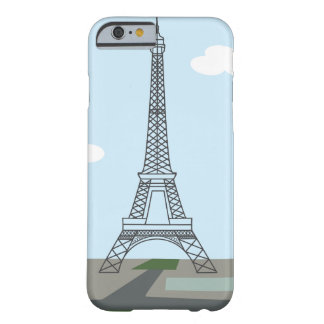 Paris Eiffel Tower Illustrated iPhone 6/6s Case