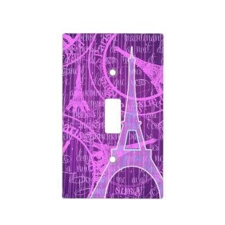 Paris Eiffel Tower Light Switch Cover