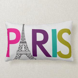 Paris Eiffel Tower - Lumbar Pillow