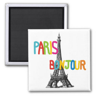 Paris Eiffel Tower Magnets