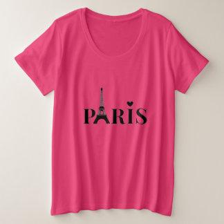 Paris Eiffel Tower Plus Size T-Shirt